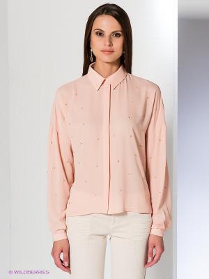 Блузка Acasta. Цвет: бледно-розовый