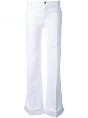Расклешенные джинсы The Seafarer. Цвет: белый