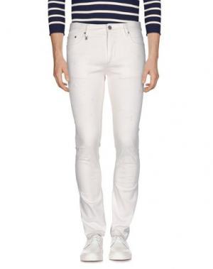 Джинсовые брюки MARC JACOBS. Цвет: белый