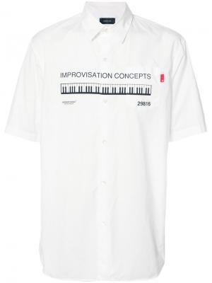 Рубашка с принтом Undercover. Цвет: белый