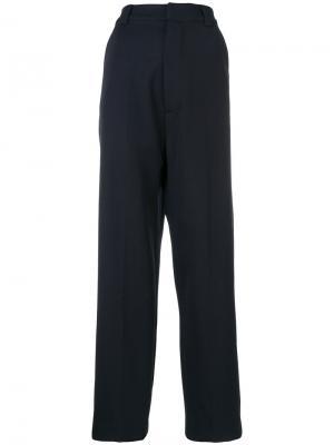 Широкие брюки Erika Cavallini. Цвет: синий