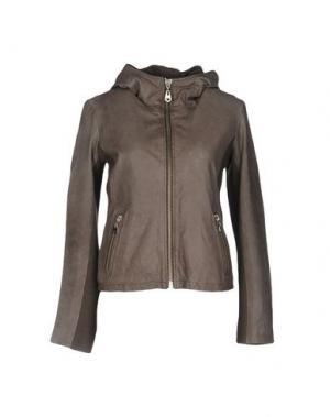 Куртка DOMA. Цвет: голубиный серый