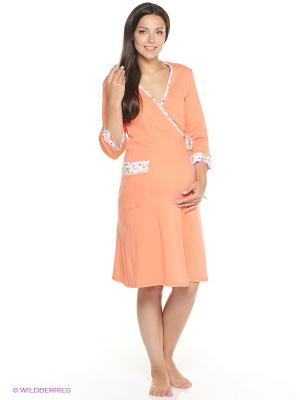 Комплект одежды Mare Bella. Цвет: персиковый
