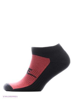 Носки NSW MENS 2PPK FUTURA NO SHOW Nike. Цвет: бордовый, белый, черный
