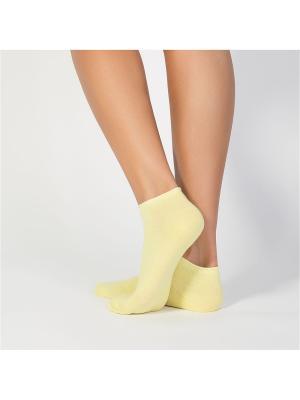 Носки женские cot IBD731001 giallo Incanto. Цвет: желтый