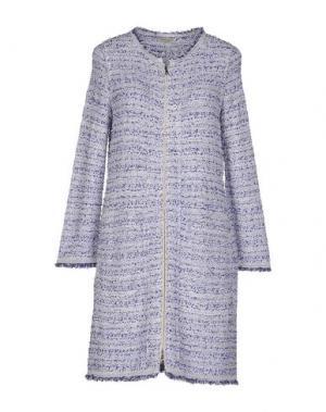 Пальто BRUNO MANETTI. Цвет: фиолетовый