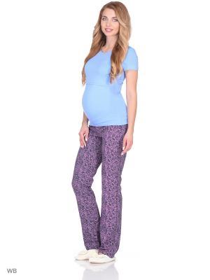 Брюки женские для беременных Hunny Mammy. Цвет: серый, розовый