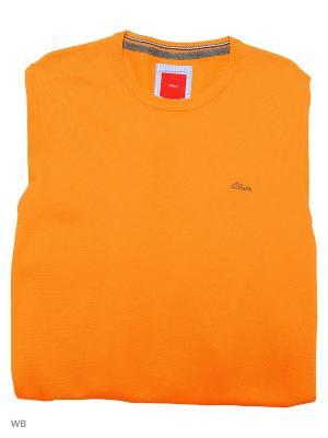 Джемпер S.OLIVER. Цвет: оранжевый