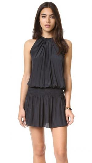 Платье без рукавов Paris Ramy Brook. Цвет: розовый