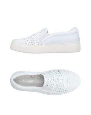 Низкие кеды и кроссовки ANDREA MORELLI. Цвет: белый