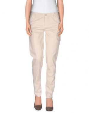 Повседневные брюки WOOLRICH. Цвет: бежевый