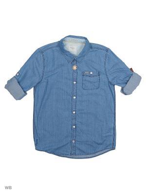 Рубашка PEPE JEANS LONDON. Цвет: индиго