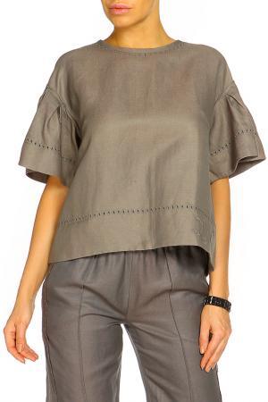 Блуза ZHOR&NEMA. Цвет: серый