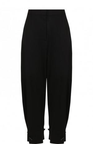Укороченные шерстяные брюки Stella McCartney. Цвет: черный