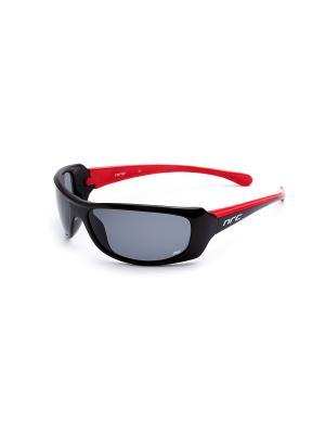 Солнцезащитные очки NRC. Цвет: красный, черный