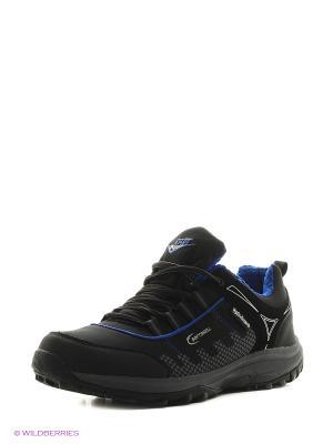 Мембранная обувь Ascot. Цвет: черный, синий