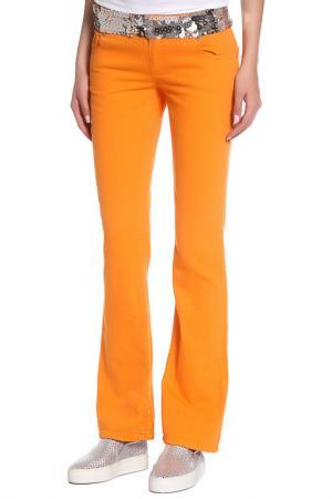 Джинсы John Richmond. Цвет: 0221, оранжевый