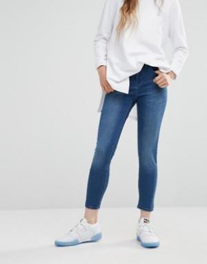 Waven Облегающие джинсы Asa. Цвет: синий