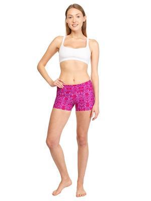 Шорты Lilac Urban Yoga. Цвет: темно-фиолетовый