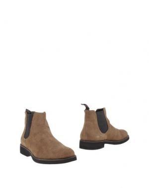 Полусапоги и высокие ботинки BAGATT. Цвет: хаки