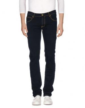 Джинсовые брюки MAISON CLOCHARD. Цвет: темно-синий