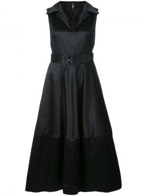 Платье с поясом Co. Цвет: чёрный