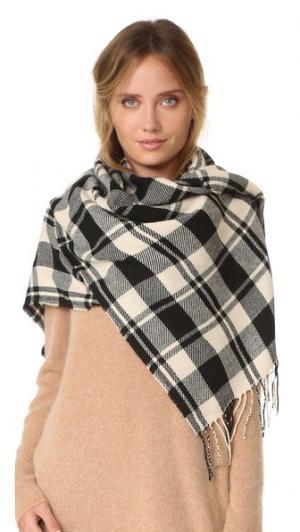 Клетчатый шарф Madewell