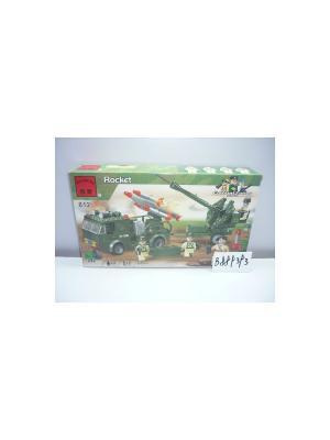 Конструктор пластиковый Военная техника ENLIGHTEN. Цвет: темно-зеленый