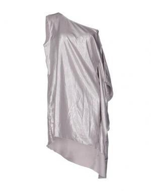 Короткое платье JIJIL. Цвет: светло-серый