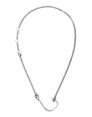 Ожерелье MIANSAI. Цвет: серебристый