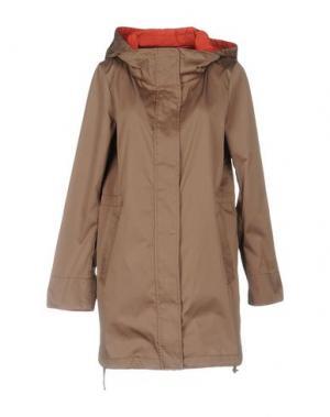 Легкое пальто GIMO'S. Цвет: верблюжий