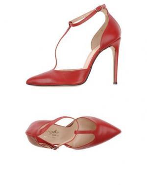 Туфли F.LLI BRUGLIA. Цвет: красный