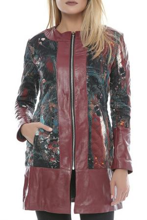 Пальто L.Y.N.N by Carla Ferreri. Цвет: bordeaux
