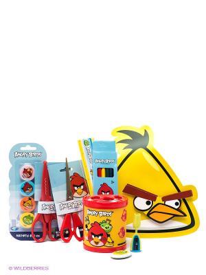 Подарочный набор отличника Аngry Birds для учебы и творчества Centrum. Цвет: желтый