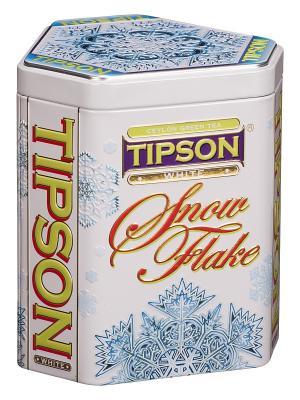 Чай Tipson Снежинка-Белая/ Snow Flake-White 100  ж/б. Цвет: черный