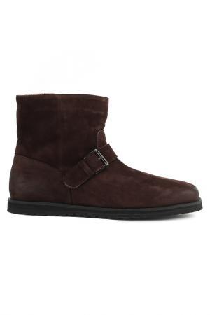 Ботинки Alexander Hotto. Цвет: темно-коричневый