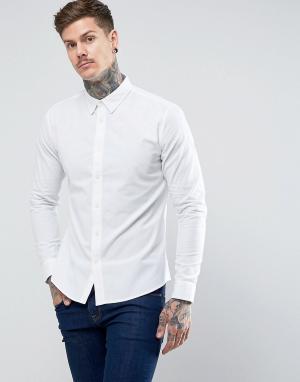 Dead Vintage Оксфордская рубашка. Цвет: белый