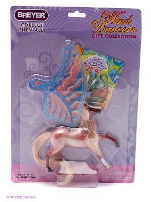 Лошадка с крыльями Бриза, серия Танцы ветра. Breyer. Цвет: розовый, бежевый