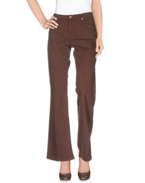 Повседневные брюки SEVEN7. Цвет: коричневый