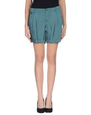 Повседневные шорты MANILA GRACE. Цвет: зеленый