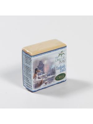 Мыло туалетное натуральное Хамам 126 гр. OLIVOS. Цвет: бежевый