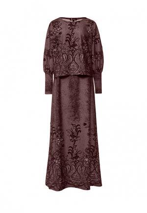 Костюм Sahera Rahmani. Цвет: коричневый