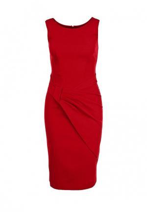 Платье Hybrid. Цвет: красный
