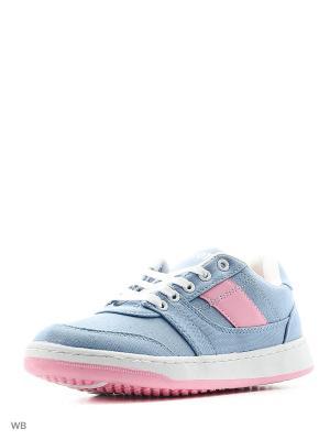 Кроссовки Ascot. Цвет: голубой, розовый
