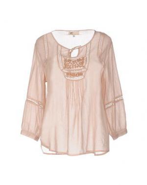 Блузка LOCAL APPAREL. Цвет: розовый