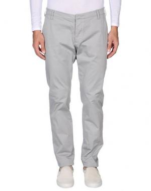 Повседневные брюки ENTRE AMIS. Цвет: серый