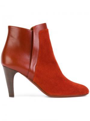 Sabina ankle boots Michel Vivien. Цвет: красный