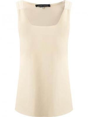Sleeveless blouse Gloria Coelho. Цвет: чёрный