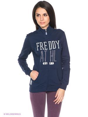 Кофта Freddy. Цвет: темно-синий