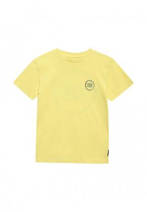 Футболка Billabong. Цвет: желтый
